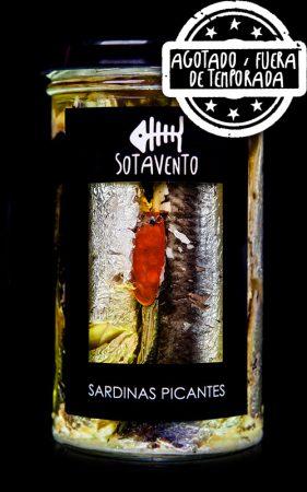Sardinas picantes en Aceite de Oliva, de Sotavento Conservas Artesanas