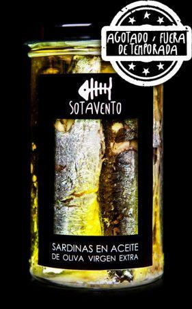 Sardinas en Aceite de Oliva, de Sotavento Conservas Artesanas